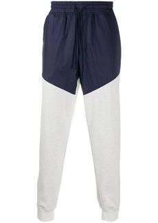 Brunello Cucinelli fabric mix track pants