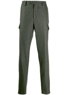 Brunello Cucinelli felt trousers