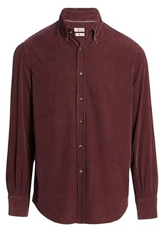 Brunello Cucinelli Fine Wale Corduroy Shirt