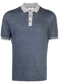 Brunello Cucinelli fitted polo shirt