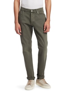Brunello Cucinelli Five-Pocket Denim Pants