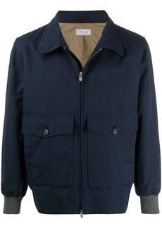 Brunello Cucinelli flap-pocket light jacket