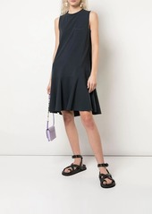 Brunello Cucinelli flared style front pocket dress