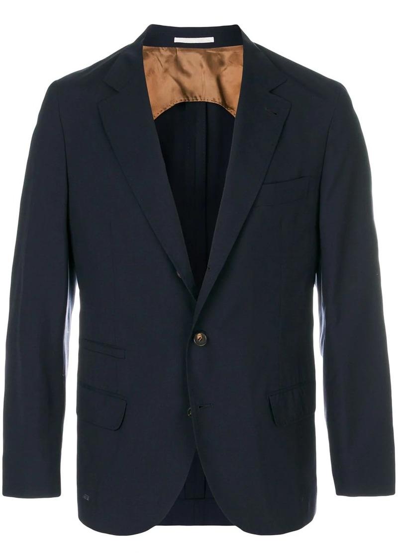 Brunello Cucinelli fitted formal blazer