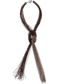 Brunello Cucinelli fringe necklace