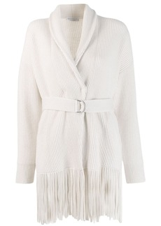 Brunello Cucinelli fringed cardigan