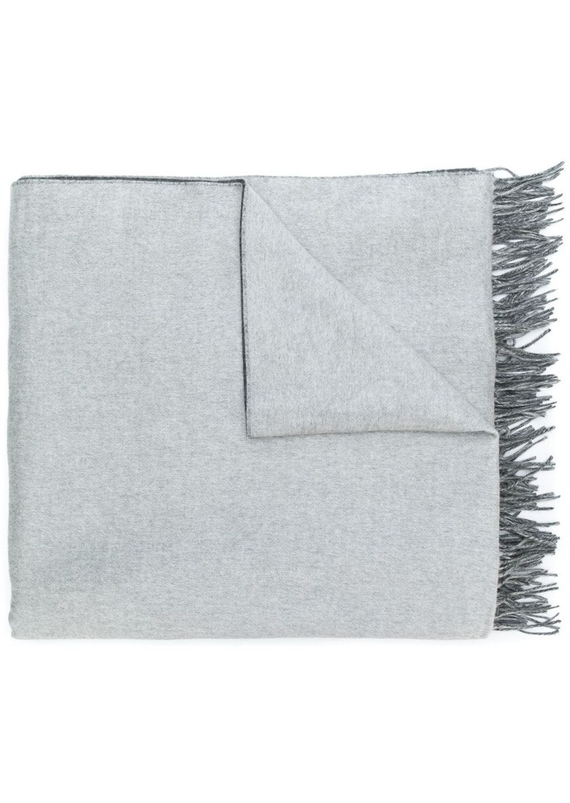 Brunello Cucinelli fringed scarf