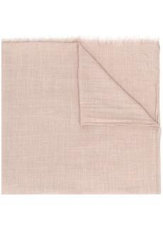 Brunello Cucinelli fringed trim scarf