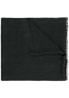 Brunello Cucinelli fringed woven scarf
