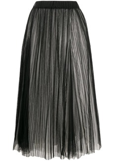 Brunello Cucinelli full shape pleated tulle skirt