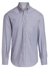 Brunello Cucinelli Gingham Shirt