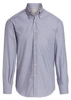 Brunello Cucinelli Gingham Shirt