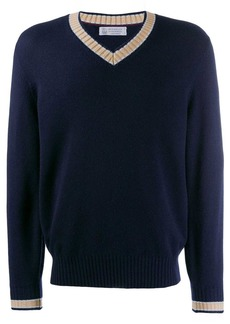 Brunello Cucinelli V-neck knit sweater