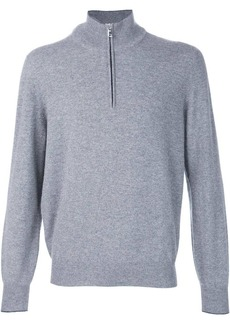 Brunello Cucinelli half zip sweater