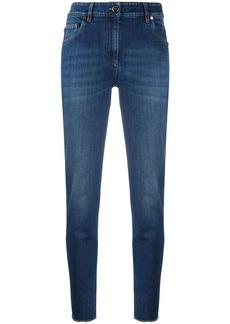 Brunello Cucinelli high-rise slim-fit jeans