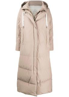 Brunello Cucinelli hodded padded coat