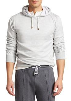 Brunello Cucinelli Hooded Cotton Sweatshirt