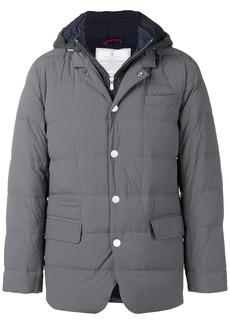 Brunello Cucinelli hooded padded jacket