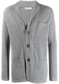Brunello Cucinelli jacket-style cardigan