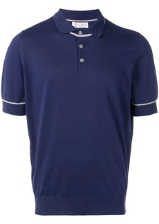 Brunello Cucinelli jersey polo shirt