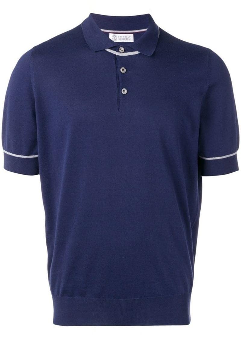 Brunello Cucinelli jersey polo shirt