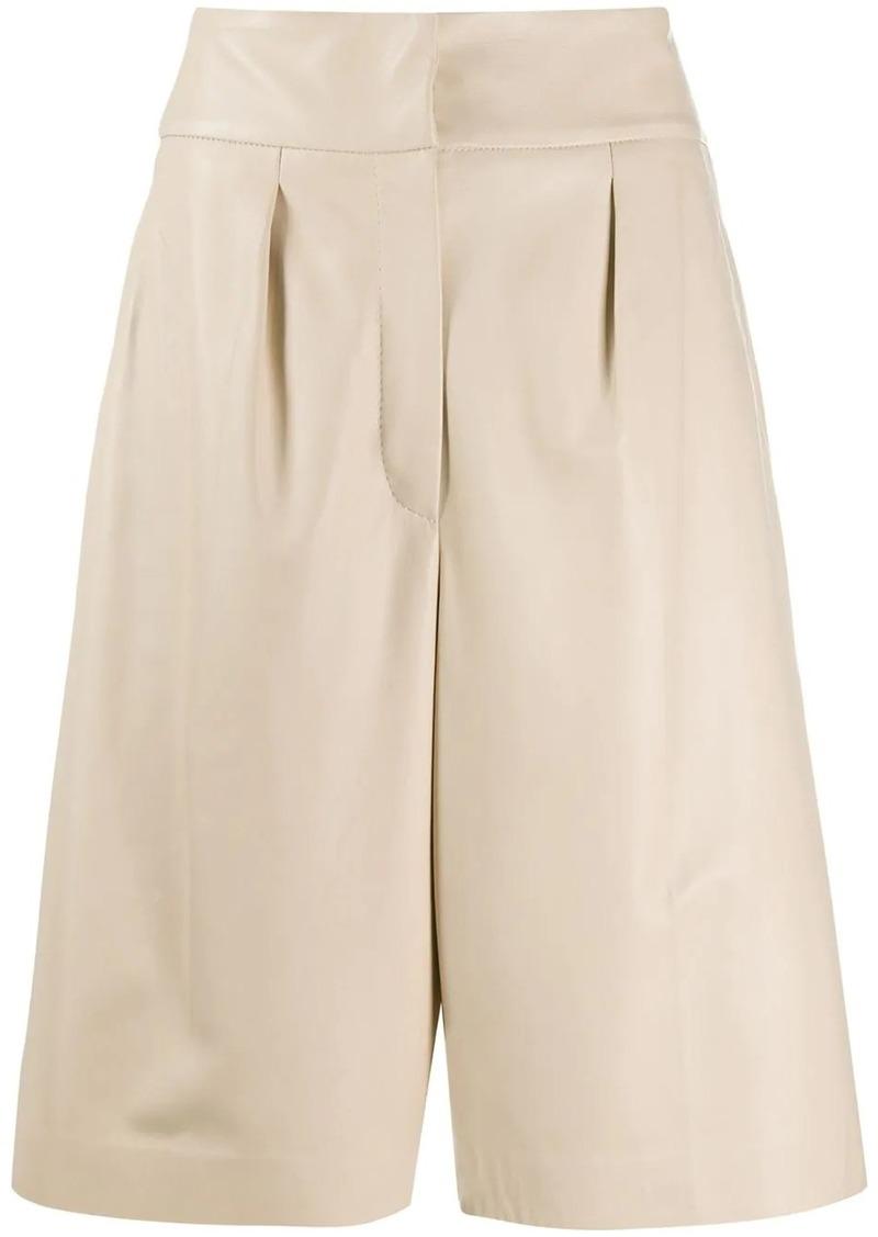 Brunello Cucinelli knee length tailored shorts