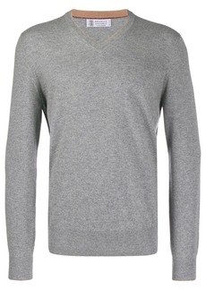 Brunello Cucinelli knit V-neck sweater