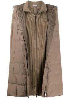 Brunello Cucinelli layered jacket