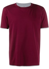 Brunello Cucinelli layered short-sleeve T-shirt