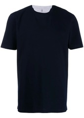 Brunello Cucinelli layered T-shirt