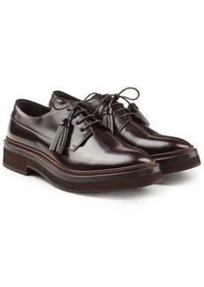 Brunello Cucinelli Leather Lace-Ups