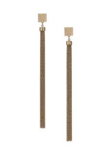 Brunello Cucinelli Light Goldplated Drop Earrings