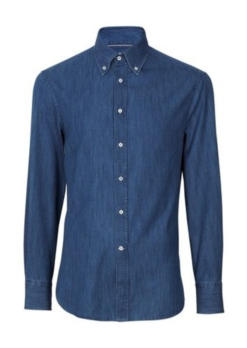 Brunello Cucinelli Lightweight denim shirt