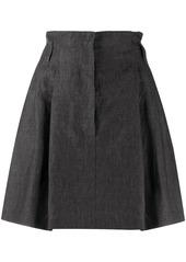 Brunello Cucinelli linen A-line shape skirt