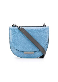 Brunello Cucinelli lizard skin-effect crossbody bag