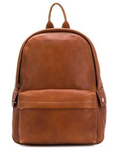 Brunello Cucinelli logo zipped backpack