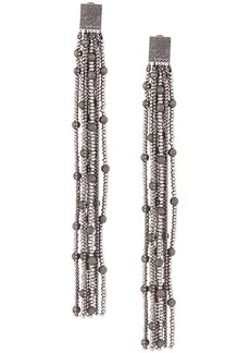 Brunello Cucinelli long chain earrings