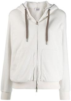 Brunello Cucinelli long sleeve hoodie