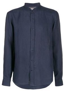 Brunello Cucinelli long-sleeved collarless shirt