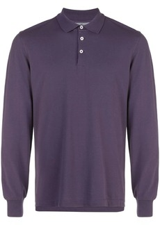 Brunello Cucinelli long sleeved polo shirt
