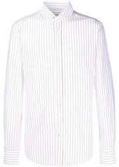 Brunello Cucinelli long sleeved striped shirt