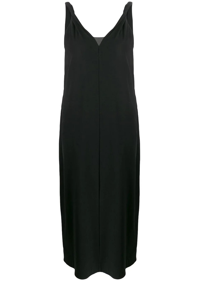 Brunello Cucinelli loose-fit v-neck dress