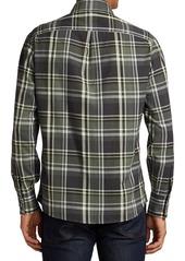 Brunello Cucinelli Madras Plaid Sport Shirt