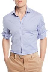 Brunello Cucinelli Men's Basic-Fit Pique Sport Shirt