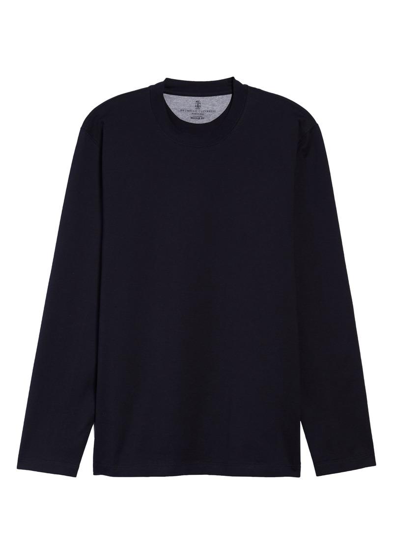 Men's Brunello Cucinelli Men's Regular Fit Crewneck T-Shirt