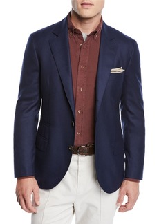 Brunello Cucinelli Men's Cashmere Two-Button Jacket