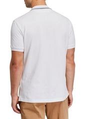 Brunello Cucinelli Men's Contrast-Trim Polo Shirt