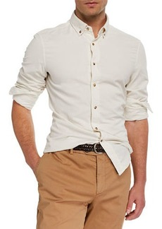 Brunello Cucinelli Men's Corduroy Sport Shirt