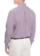 Brunello Cucinelli Men's Micro-Check Sport Shirt