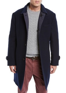 Brunello Cucinelli Men's Reversible Wool/Cashmere Coat